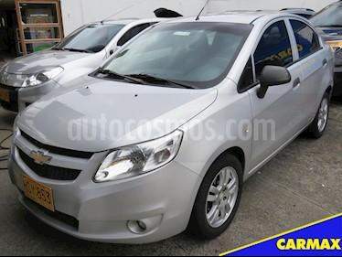Foto venta Carro usado Chevrolet Sail LS  (2014) color Plata Brillante precio $25.900.000