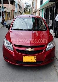 Chevrolet Sail LS  usado (2014) color Rojo Borgona precio $22.500.000