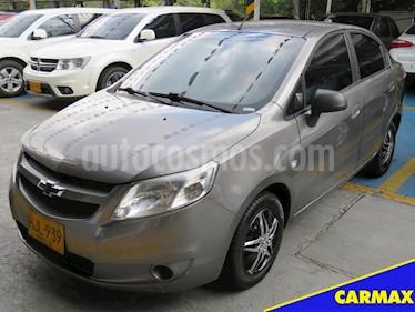 Foto venta Carro usado Chevrolet Sail LS  (2014) color Gris precio $23.900.000