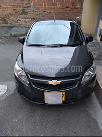 Foto venta Carro usado Chevrolet Sail LT  (2014) color Gris Galapagos precio $22.800.000