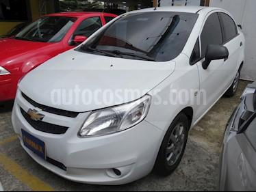 Foto venta Carro usado Chevrolet Sail LT  (2016) color Blanco precio $27.900.000