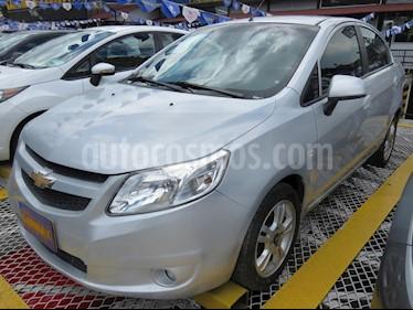 Chevrolet Sail LTZ  usado (2016) color Plata precio $28.900.000
