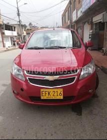 Chevrolet Sail LTZ  usado (2018) color Rojo precio $32.000.000