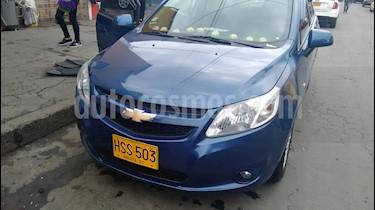 Chevrolet Sail LTZ usado (2014) color Azul precio $23.500.000