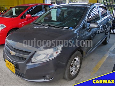 Foto venta Carro Usado Chevrolet Sail LTZ (2014) color Gris Ocaso precio $25.900.000