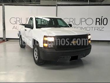 Chevrolet Silverado 1500 Cab Reg Paq A usado (2015) color Blanco precio $259,000