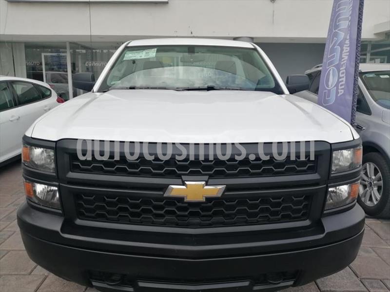 Chevrolet Silverado 1500 Cab Reg WT Aa Aut usado (2015) color Blanco precio $234,000