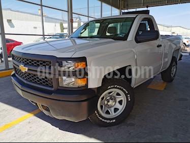 Chevrolet Silverado 1500 Cab Reg Paq A usado (2014) color Blanco precio $235,000
