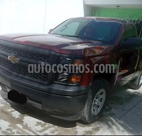 Chevrolet Silverado 1500 Cab Reg Paq A usado (2014) color Rojo precio $258,000