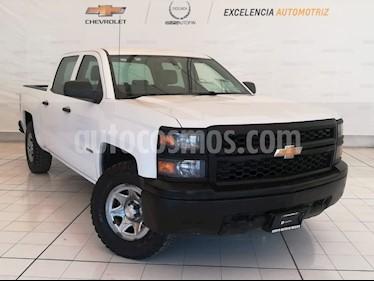 Foto venta Auto usado Chevrolet Silverado 2500 4x4 Doble Cabina LS (2015) color Blanco Olimpico precio $339,000