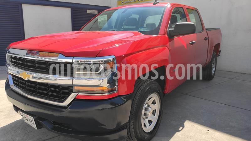 Chevrolet Silverado 2500 Cabina Regular 4X4 usado (2018) color Rojo precio $469,000