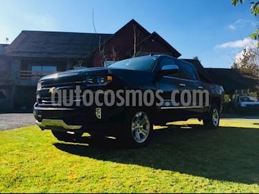 Chevrolet Silverado Cabina Doble 5.3 4x4 LTZ  Z71 usado (2017) color Negro precio $23.000.000