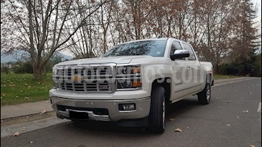 Chevrolet Silverado 5.3L LTZ 4x4  usado (2016) color Blanco precio $17.750.000