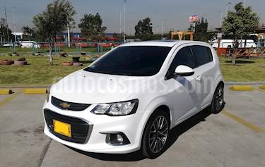 Chevrolet Sonic Hatchback  1.6 LT RS usado (2017) color Blanco precio $42.000.000