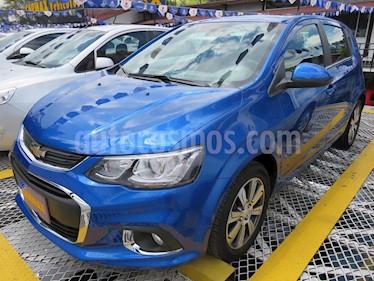 Foto Chevrolet Sonic Hatchback  1.6 LT  usado (2018) color Azul precio $42.900.000