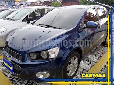 Foto venta Carro usado Chevrolet Sonic Hatchback  1.6 LT (2013) color Azul precio $31.900.000