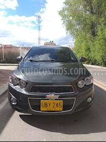 Chevrolet Sonic Hatchback  1.6 LT usado (2015) color Gris precio $32.000.000