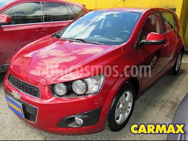 Chevrolet Sonic Hatchback  1.6 LT  usado (2016) color Rojo precio $34.900.000