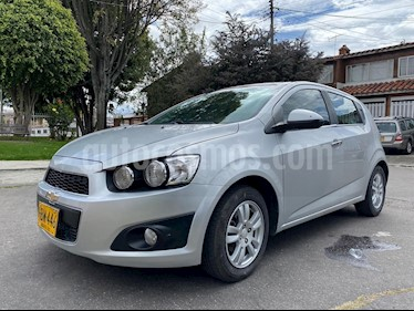 Chevrolet Sonic Hatchback  1.6 LT usado (2013) color Plata precio $24.500.000