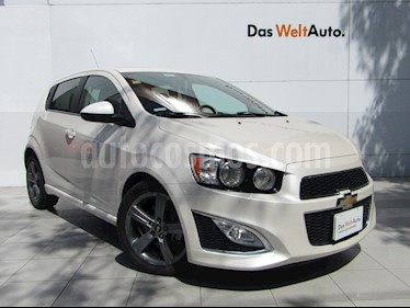 Chevrolet Sonic RS 1.4L usado (2014) color Blanco Diamante precio $158,000