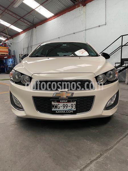 Chevrolet Sonic RS 1.4L usado (2016) color Blanco Diamante precio $191,000