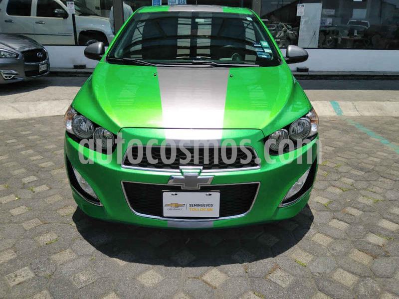 Chevrolet Sonic RS 1.4L usado (2016) color Verde precio $240,000