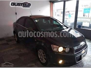 Foto venta Auto usado Chevrolet Sonic Sedan LTZ (2015) color Gris Oscuro precio $399.900