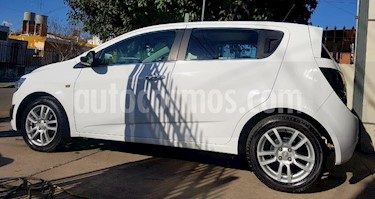 Foto venta Auto usado Chevrolet Sonic Sedan LTZ (2015) color Blanco precio $430.000