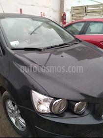 Chevrolet Sonic 1.6 LS usado (2015) color Negro precio u$s9,000