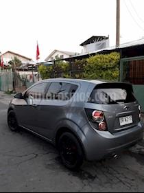 Foto venta Auto usado Chevrolet Sonic 1.6 LT Aut  (2013) color Gris precio $4.950.000