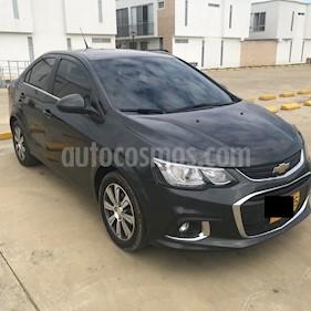 Chevrolet Sonic 1.6 LT Aut usado (2018) color Gris precio $45.000.000