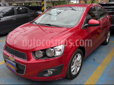 Foto venta Carro usado Chevrolet Sonic 1.6 LT Aut (2015) color Rojo precio $36.200.000