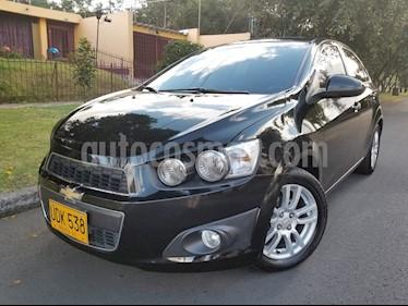 Foto venta Carro Usado Chevrolet Sonic 1.6 LT Aut (2015) color Negro precio $34.500.000