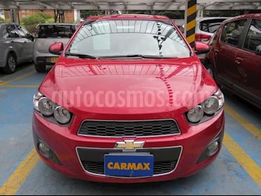 foto Chevrolet Sonic 1.6 LT Aut usado (2015) color Rojo precio $35.900.000