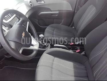 Chevrolet Sonic 1.6 LT  usado (2018) color Plata Sable precio $45.000.000