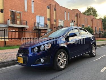 Foto venta Carro usado Chevrolet Sonic 1.6 LT (2013) color Azul Metalico precio $26.800.000