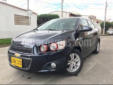 Foto venta Carro Usado Chevrolet Sonic 1.6 LT  (2017) color Azul precio $36.000.000