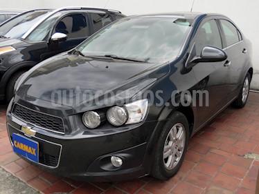 Foto venta Carro usado Chevrolet Sonic 1.6 LT (2014) color Gris precio $33.900.000