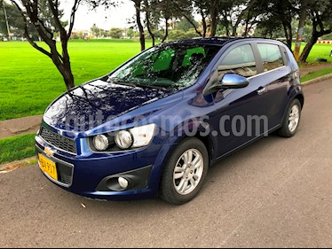 Foto venta Carro Usado Chevrolet Sonic 1.6 LT (2013) color Azul Metalico precio $31.000.000