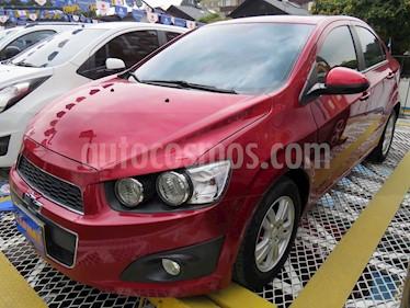 Foto venta Carro usado Chevrolet Sonic 1.6 LT (2014) color Rojo precio $33.900.000