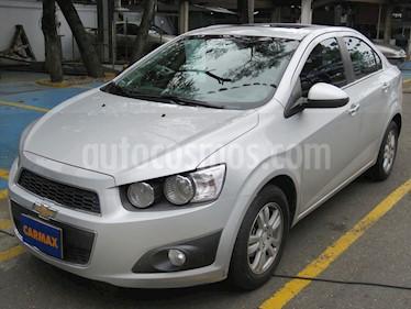 Foto venta Carro usado Chevrolet Sonic 1.6 LT (2013) color Plata precio $34.900.000