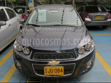 Foto venta Carro usado Chevrolet Sonic 1.6 LT  (2016) color Negro precio $36.900.000
