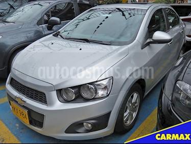 Foto venta Carro Usado Chevrolet Sonic 1.6 LT (2014) color Plata Brillante