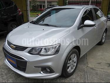 Foto venta Carro usado Chevrolet Sonic 1.6 LT  (2018) color Plata precio $42.900.000