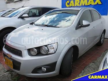 Foto venta Carro usado Chevrolet Sonic 1.6 LT (2014) color Plata Brillante precio $32.900.000