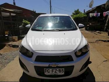 Foto venta Auto usado Chevrolet Sonic 1.6  (2013) color Blanco precio $3.800.000