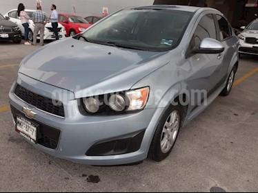 Foto venta Auto usado Chevrolet Sonic 4p LT L4/1.6 Aut (2013) color Azul precio $108,000