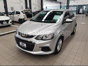 Foto venta Auto usado Chevrolet Sonic 4p LT L4/1.6 Aut (2017) color Plata precio $185,000