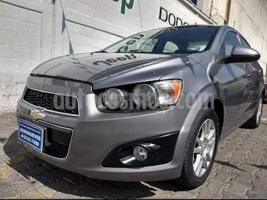 Foto venta Auto usado Chevrolet Sonic 4p LT L4/1.6 Aut (2012) color Gris precio $130,000