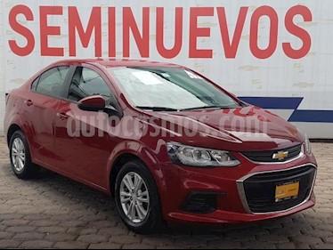 Foto venta Auto usado Chevrolet Sonic 4p LT L4/1.6 Aut (2017) color Rojo precio $195,000